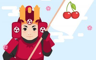La relación de las cerezas con los Samuráis