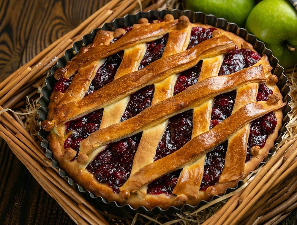 Tarta de cerezas o 'cherry pie'