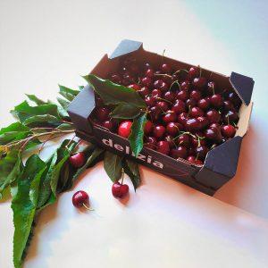 Caja de cerezas 5kg delizia